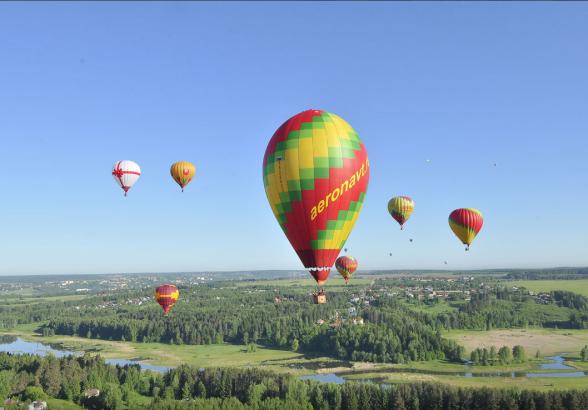 Как заказать полет на воздушном шаре в Москве?