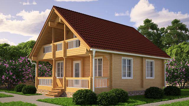Что такое усадка деревянного дома из бруса, и как сделать её менее ощутимой?
