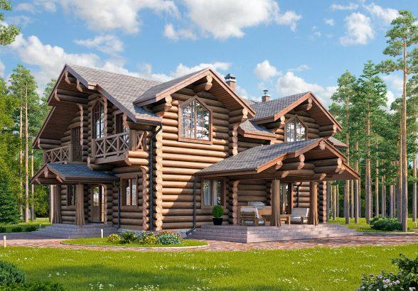 Этапы строительства деревянного дома и создания проекта