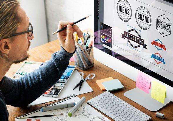 Оказание услуг по индивидуальной разработке логотипа для компании