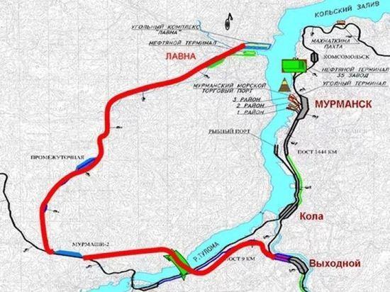 Морской порт Лавна в Мурманске лишился подрядчика по созданию ж/д ветки