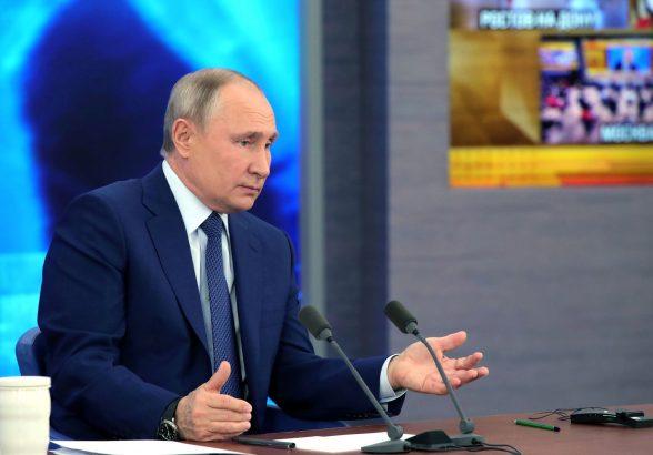 Путин назвал число живущих за чертой бедности россиян