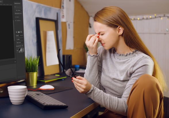 У вас болят глаза за компьютером?