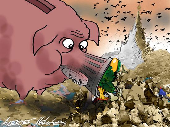Подсчет тарифов на вывоз мусора в разных регионах вызвал шок