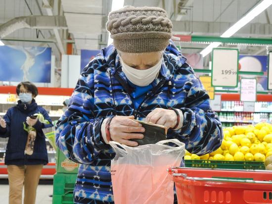 Недоедающими в России признали 20 процентов населения