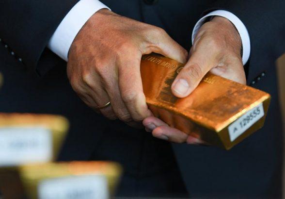 Экспорт российского золота в Великобританию вырос на 83%