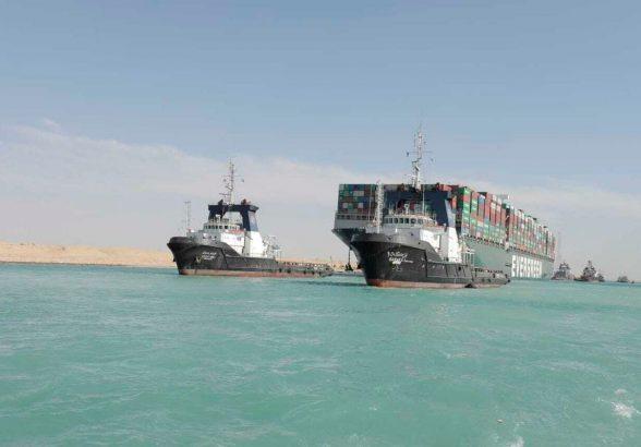 Владелец контейнеровоза Ever Given заплатит Суэцкому каналу $540 млн