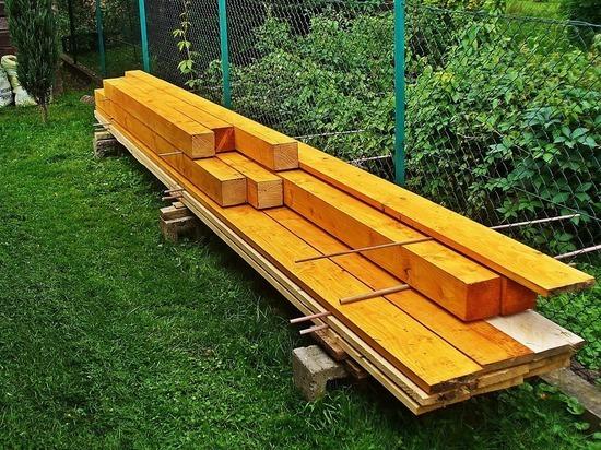 Дачников напугал аномальный рост цен на деревянные стройматериалы